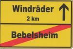 Aukleber Bebelsheim