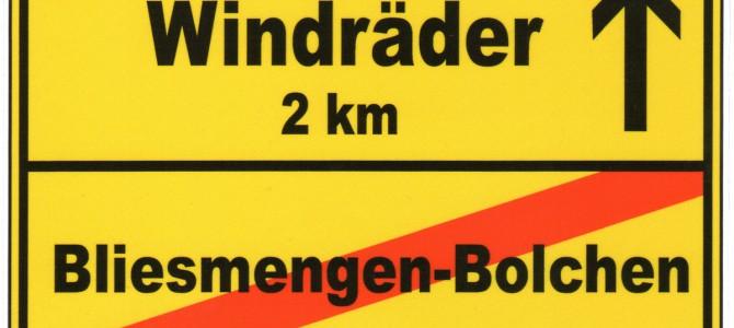 10-H für Bliesmengen, Bebelsheim und Habkirchen – Bürgerinitiative stellt Aufkleber vor