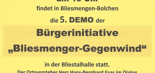 Plakat 5. Demo