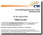 FWG-Bürgerversammlung