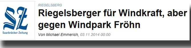 Riegelsberger stimmen gegen Windräder