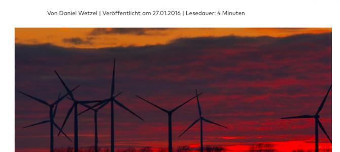 Windkraft-Industrie übertrifft erneut Ausbauziele der Bundesregierung deutlich…